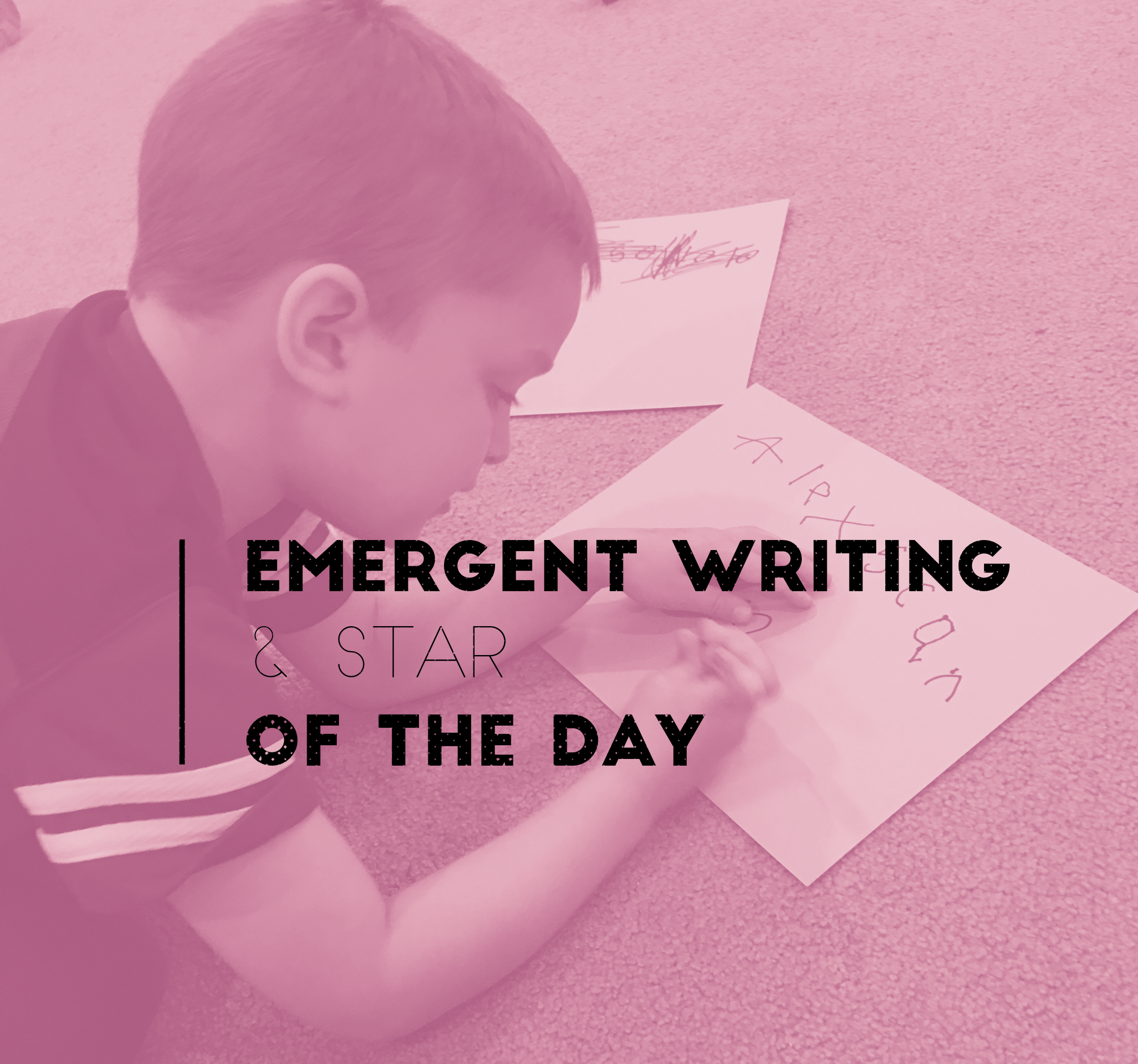 emergent writing The purpose of this study was to concurrently examine the development of written language across several writing tasks and to investigate how writing features develop in preschool children emergent written language knowledge of 372 preschoolers was assessed using numerous writing tasks the.