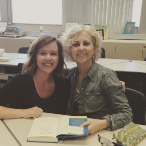 Me and Kate DiCamillo