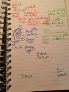 notebook writing ideas
