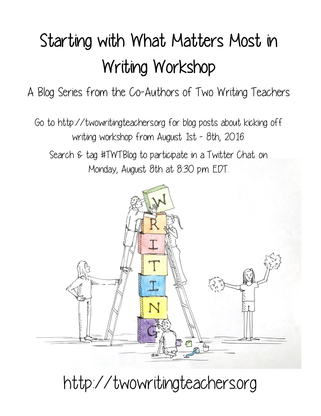 Starting with What Matters Most in Writing Workshop