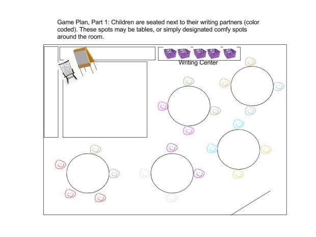 Classroom Map 1