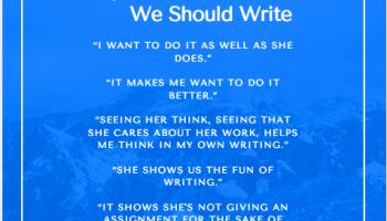 Why am I good at writing?