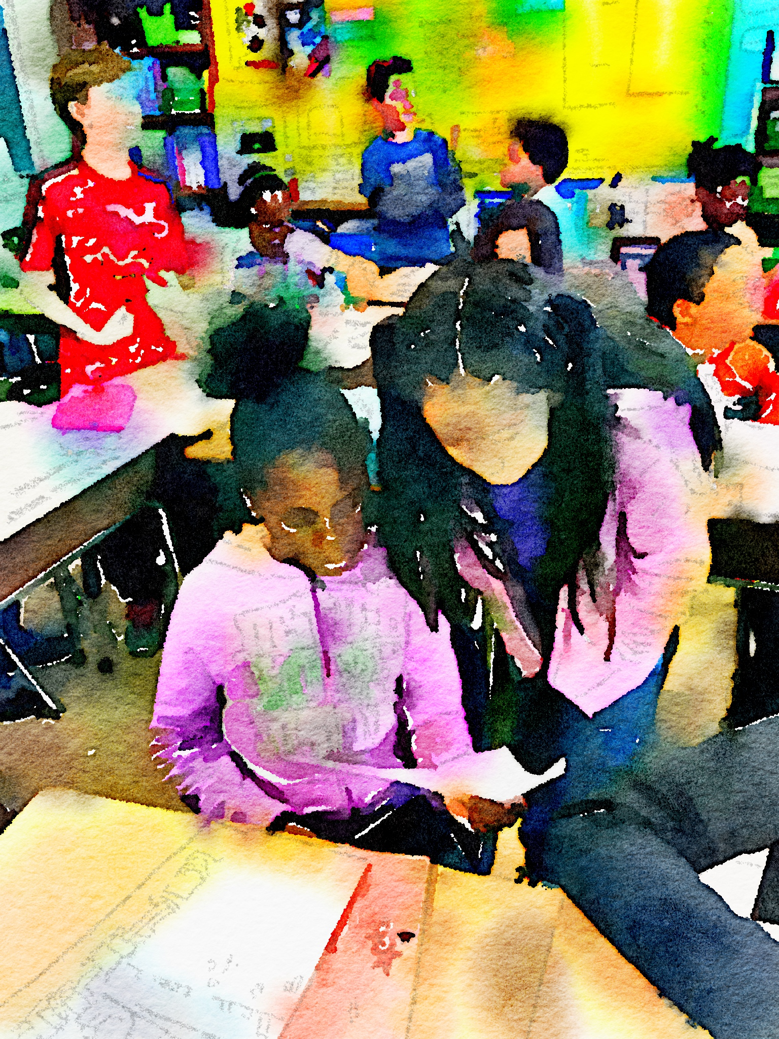 pausing to reflect personal essays two writing teachers fourth graders came to listen to my third graders share their personal essays