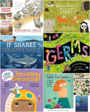 NOTE: All of the books on this list have 2016 and 2017 publication dates. Some of the books (e.g., If Sharks Disappeared, The New Ocean) will be released later this year.