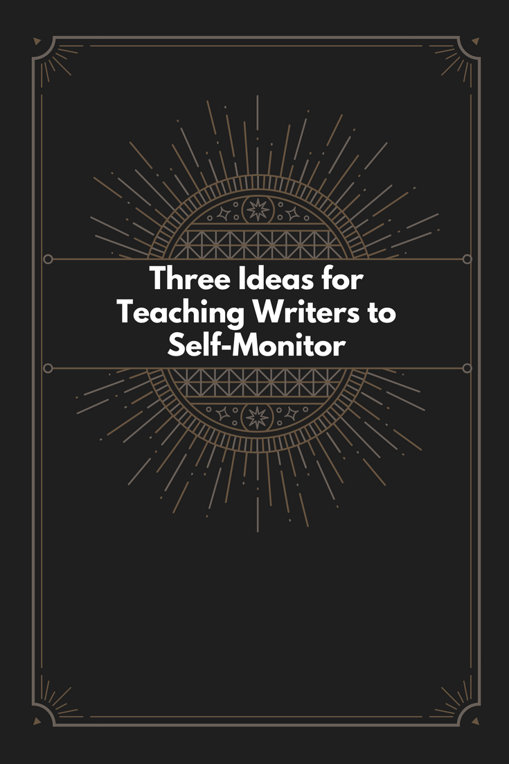 purdue cover letter workshop%0A Teaching Students to SelfMonitor