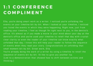 1_1 Conference Compliment