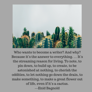 """""""Who wants to become a writer_ And why_ Because it_s the answer to everything. … It_s the streaming reason for living. To note, to pin down, to build up, to create, to be astonis"""