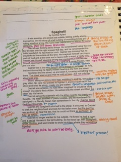literary essays setting the stage  two writing teachers img