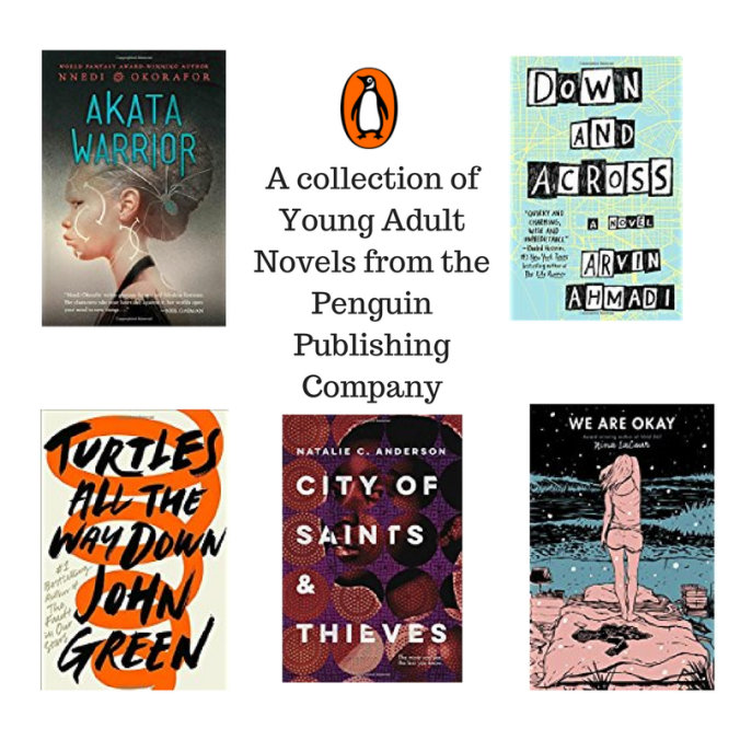A collection of Young Adult Novels from the Penguin Publishing Company
