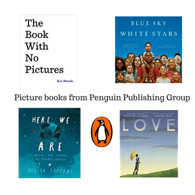 Picture books from Penguin Publishing Group