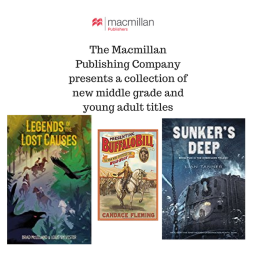The MacMillan Publishing Company presents a collection of new middle grade and young adult titles (1)