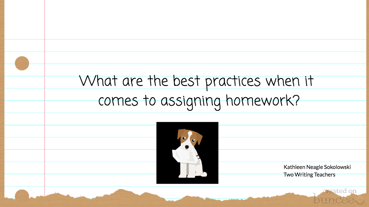 Questioning Traditional Homework Practices
