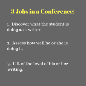 3 Jobs in a Conference_