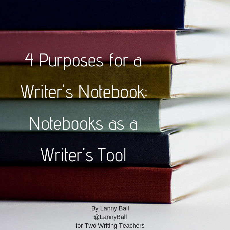 4 Purposes for a Writer's Notebook: Notebooks as a Writer's Tool