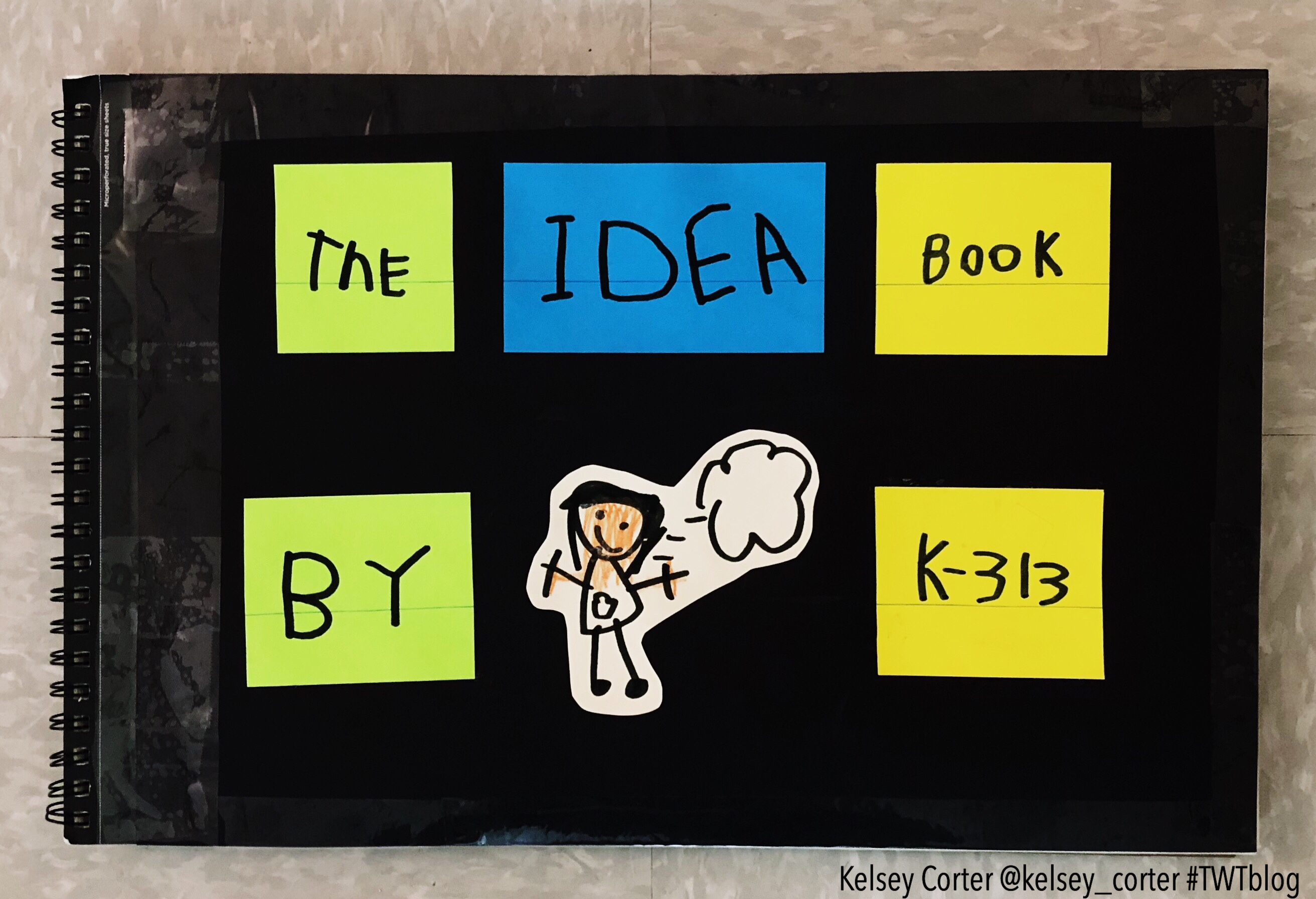 The Idea Book: A Tool To Help Kids Live Like Writers