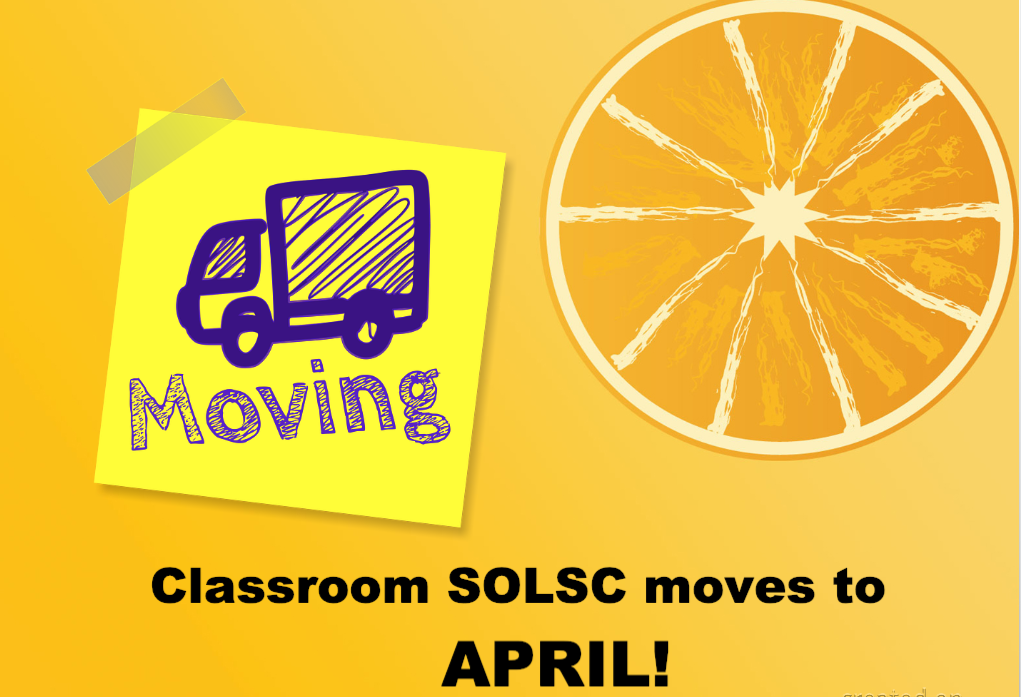Classroom SOLSC Makes a Move!