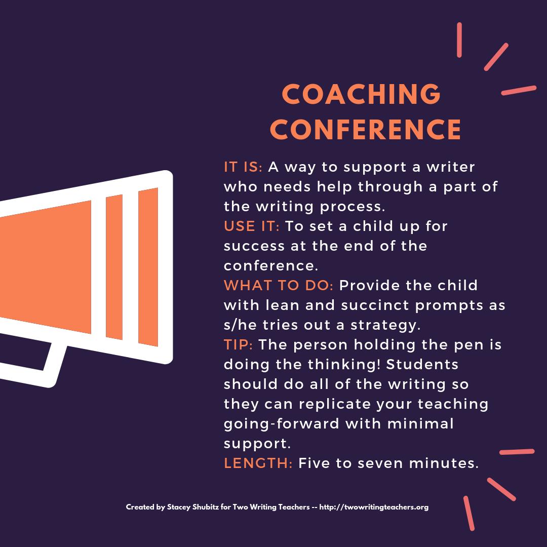 Be a Writing Coach.