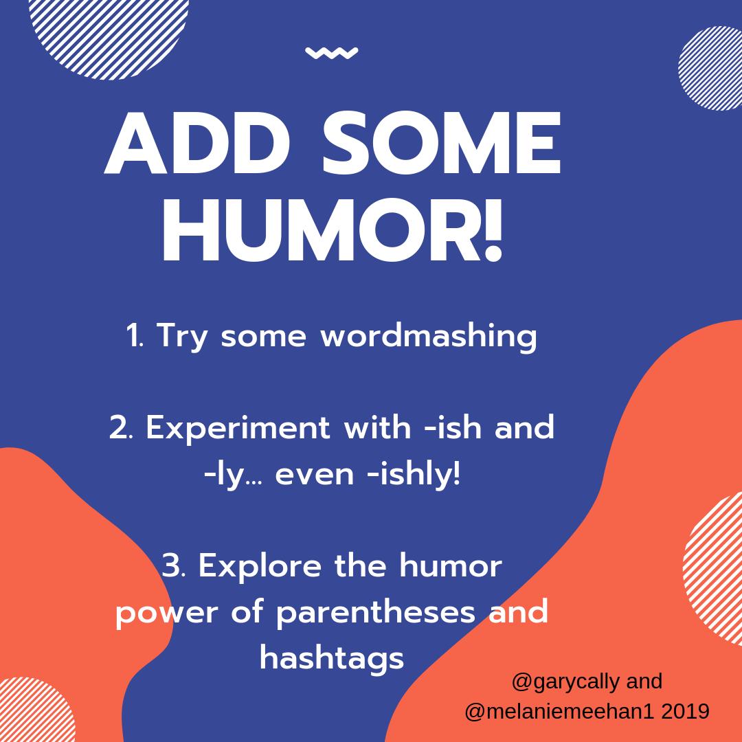 Bringing Humor Into Writing Workshops
