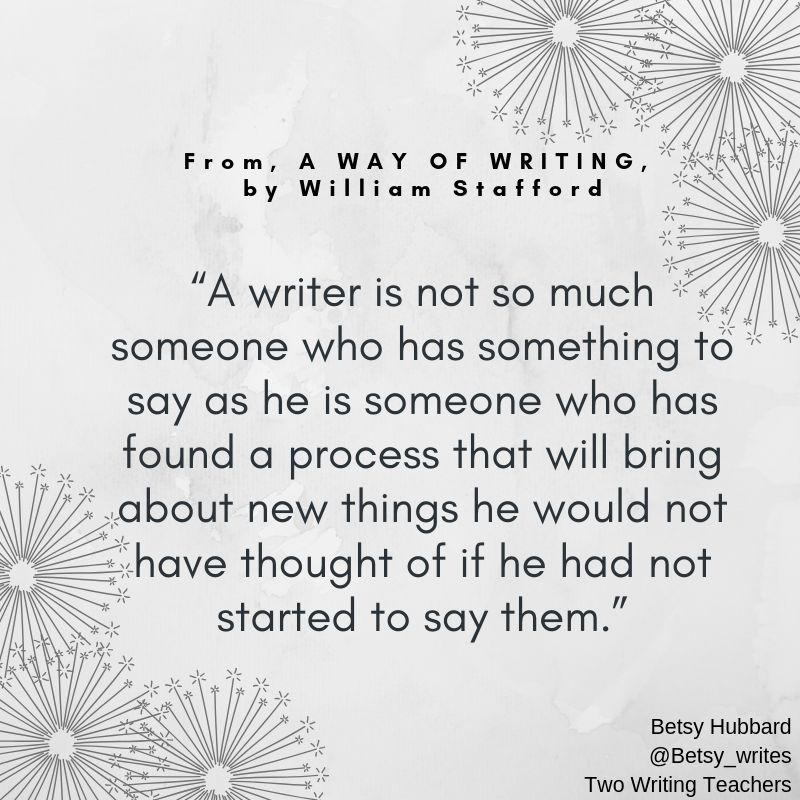But How do I Teach Writing?