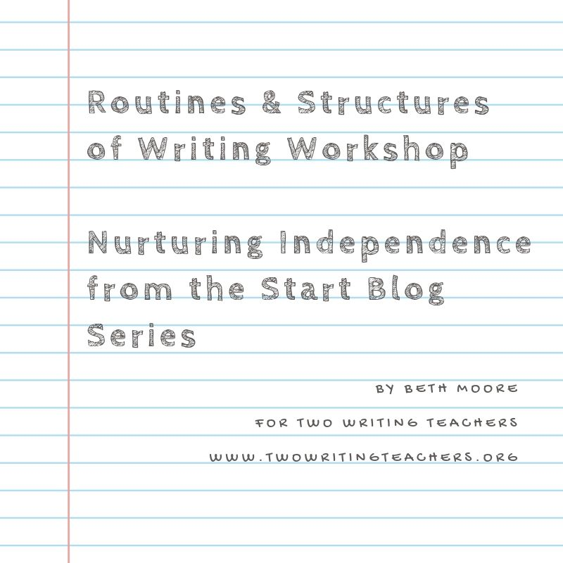 Routines and Structures of Writing Workshop: Nurturing Independence from the Start
