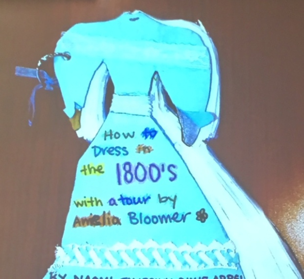 1800s dress cover