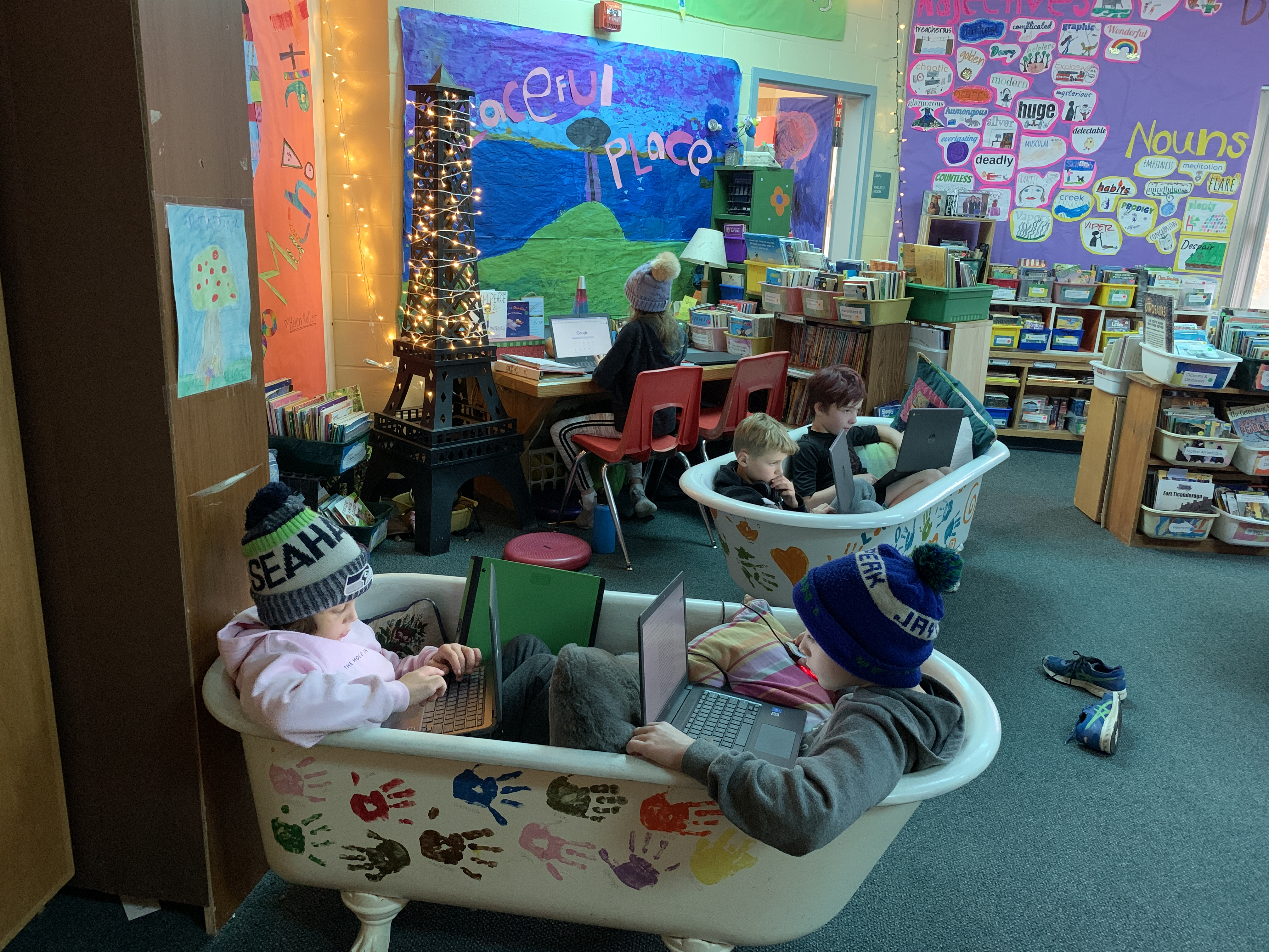 Re-imagining Classroom Work Spaces: Reaching Your Writers