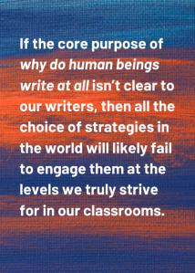 Core purpose clarity
