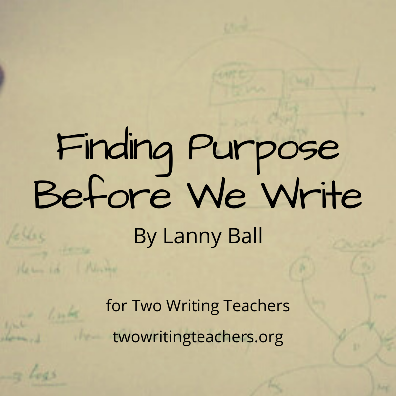 Finding Purpose Before We Write:  Making the Most of Planning & Rehearsal
