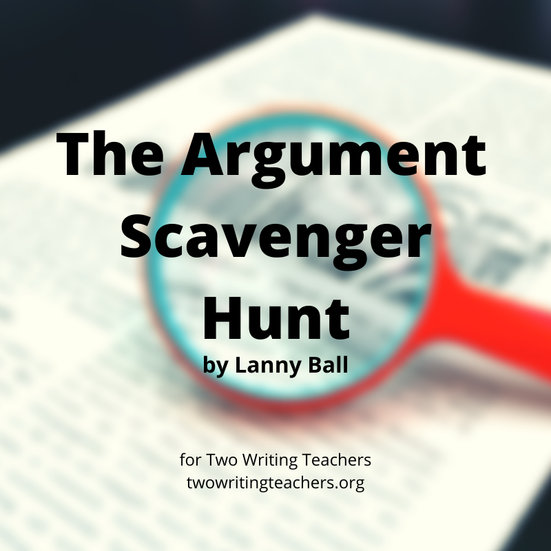 The Argument Scavenger Hunt