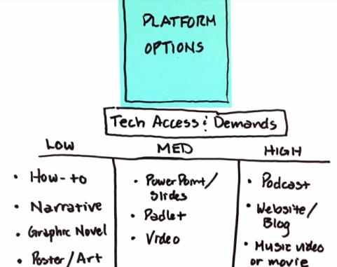 Passion Projects-Platform Options