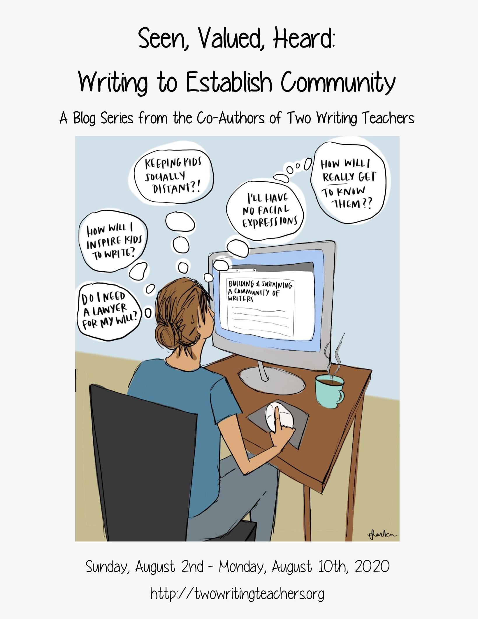 Seen, Valued, Heard: Writing Partnerships to Establish Community