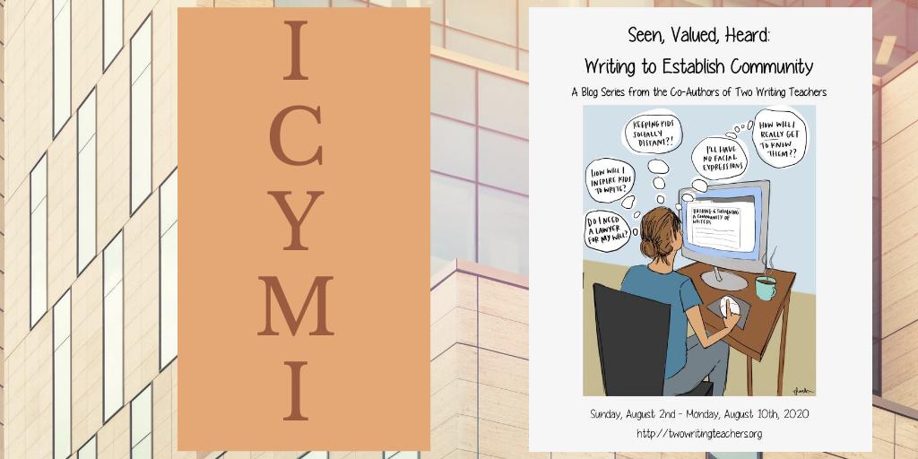 ICYMI: Seen, Valued, Heard Blog Series