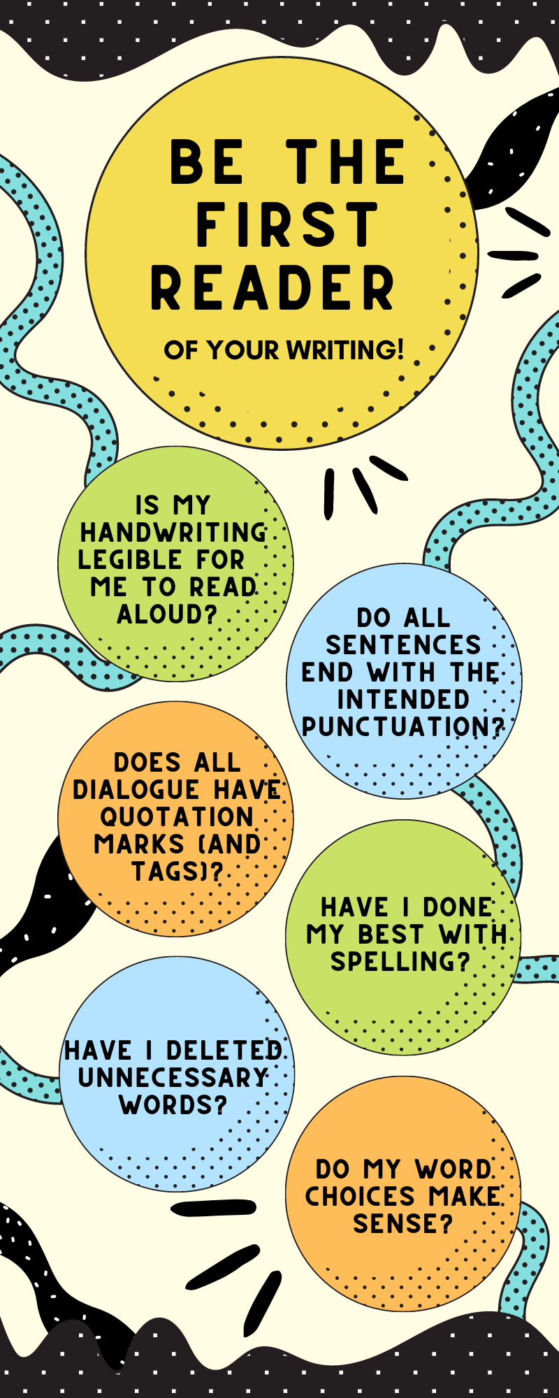 Be the first reader of your writing!