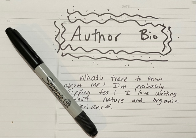 Starting with Publishing in Mind: About the Author